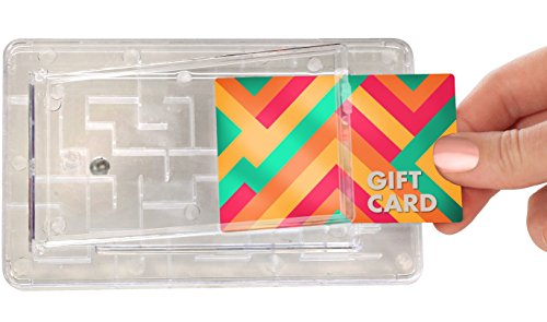 TechTools Gift Card Maze - Brain Teasing Money Puzzle for Cash or Gift Cards - Fun Gift Card Holder
