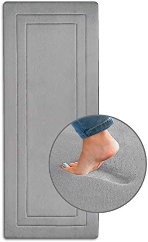 Ellendi Ultima Comfort Memory Foam Runner Rug 24 x 60 Non Slip Kitchen Runner Extra Long Bath product image