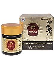 Koreaanse Rode Ginseng Goudextract 100g - gedurende 3 Maanden - Ginsenosiden Rg1,Rb1,Rg3> 13 mg/g, Saponinen: 80mg/g