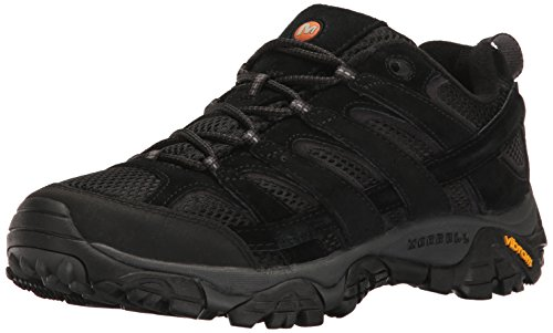 Merrell Men's Moab 2 Vent Hiking Shoe, Black Night, 13 M US