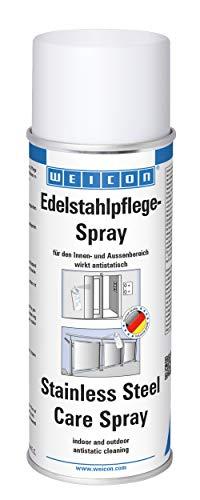 Weicon 11590400 Edelstahlpflege-Spray 400ml antistatische Reinigung und Pflege