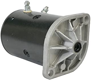 New Western Fisher Snowplow Motor w/Two Posts Snow Plow