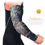 handaxian 4pcsbandage manicotto del tatuaggio della protezione solare uv manica polsini antiscivolo manica traspirante sport manica elastica 4 pz-15