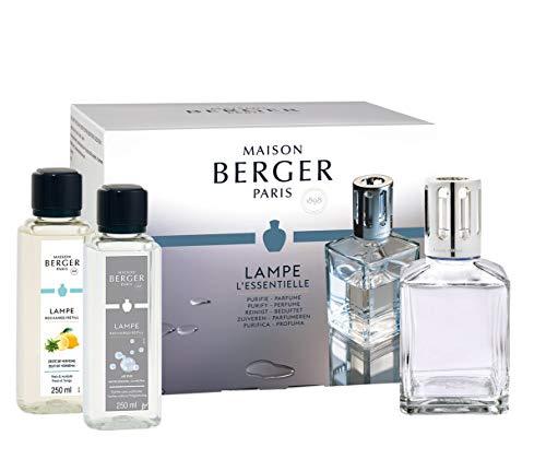Lampe Berger 3098 Set Essenziale Carree, 28.5 x 14.5 x 14 cm
