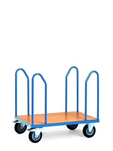 Fetra Transportgeräte  mttdc1583F 500Wagen Transport, seitliche Griffe, 600kg Belastung, 1200mm x 800mm Plattform