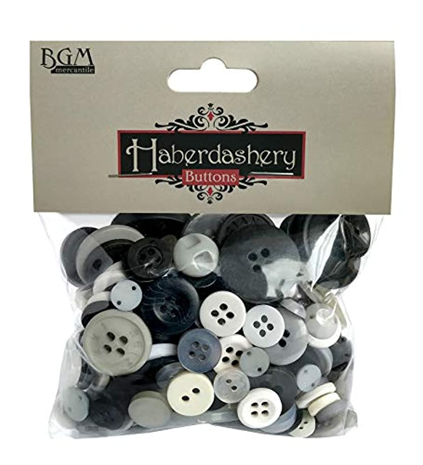 Buttons Galore Neutral Haberdashery Craft & Sewing Buttons - 4.5 oz Bag of Buttons