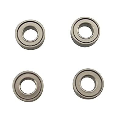MagiDeal 4 Pieces Ball Bearings Upgraded Parts for Hubsan X4 H502S H502E DIY Toy Drone Quadcopter Parts Accessories by Magideal