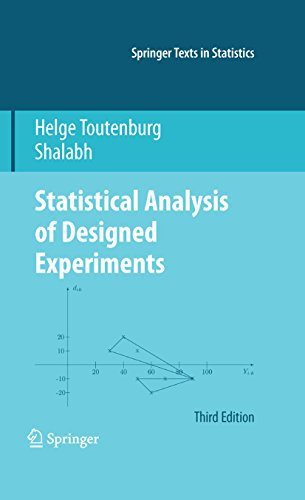 Statistical Analysis of Designed Experiments, Third Edition (Springer Texts in Statistics) (English Edition)