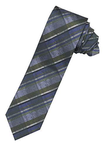 Moschen-Bayern Herren Krawatte Trachtenkrawatte Seide Blau