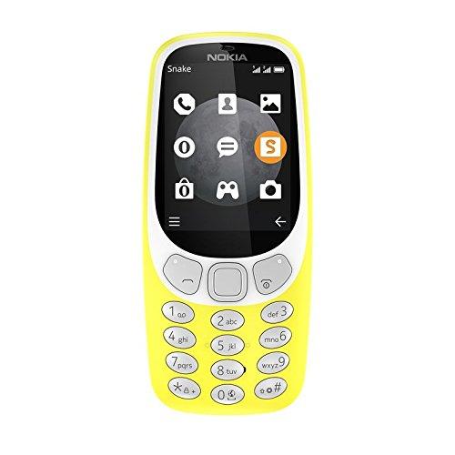Nokia 3310 (2017) 3G Dual SIM Giallo SIM Free