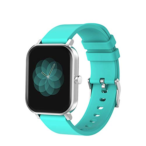 ZYY S10 1.69 Pulgadas Smart Watch Men's Touch Full Touch Fitness Tracker IP68 Impermeable Mujer P8 Plus Smartwatch,C