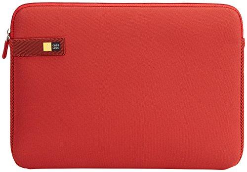 Case Logic LAPS Notebook Hülle für 14 Zoll Laptops (ultraschmales Sleeve, ImpactFoam Schaumpolsterung für Rundumschutz, Laptop Tasche ideal für Chromebook oder Ultrabook), Brick