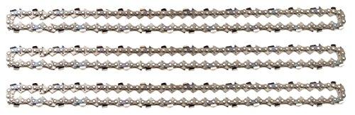 mächtig 3 Tarox-Sägeketten .325 1,3 mm 64TG halbes 38-cm-Blatt Kompatibel mit Dolmar HUSQVARNA