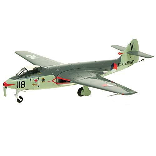 X-Toy Military Fighter Puzzle Model Kits, 1/48 Scale British Hawker Sea Hawk MK100 Modelo De Plástico, 9.8 Pulgadas X 9.6 Pulgadas