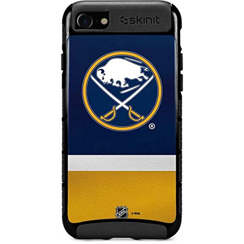 Skinit Cargo Phone Case Compatible with iPhone SE - Officially Licensed NHL Buffalo Sabres Jersey Design