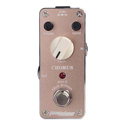 caja Mini afk-3Funk máquinas effector True Bypass para accesorios para guitarra, violeta