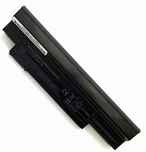 onlyguo 10.8V 5200MAH UM09H31 Batería de Repuesto para Acer Aspire One 253h NAV50 Series One 532 532h AO532h 532G AO532G All Series Acer UM09C31 UM09G31 UM09H36 UM09H41 UM09G41 UM09H71 UM09G51
