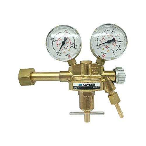 KAYSER Druckminderer C02 / Argon mit Absperrventil