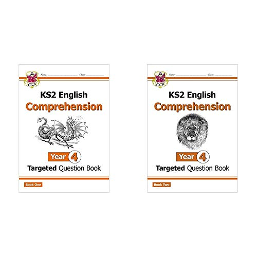 KS2 English Targeted Question Book: Year 4 Comprehension - Book 1 & 2 Bundle