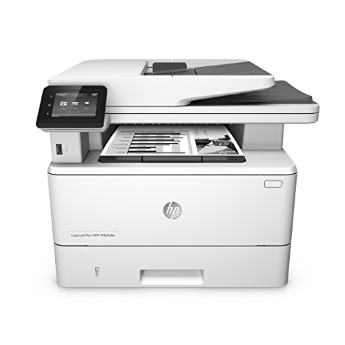 HP LaserJet Pro M426dw Laser Multifunktionsdrucker (Drucker, Scanner, Kopierer, WLAN, LAN, Duplex, HP ePrint, Apple Airprint, USB, 4800 x 600 dpi) weiß