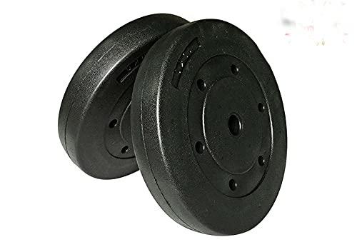 DINKALEN Juego de platos de peso de 3 kg x 2 pesas estándar de 1 pulgada para gimnasio