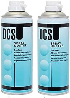 DCS Spray Duster 400ml Aerosol Airduster (2 pieces)