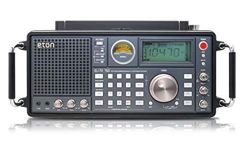 Eton Elite, The Classic, Clear-Sounding AM/FM/LW/VHF/Shortwave with Single Side Band (SSB) Radio (NELITE750)