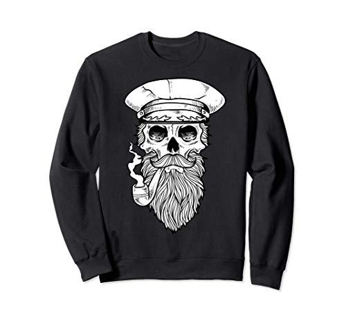 Skull Bones Smoking Sailor Tattoo s Sudadera