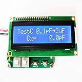DealMux 1 pz Analizzatore di impedenza pannello analogico induttanza capacità misuratore di resistenza 0.1pF ~ 1uF 0.1uF ~ 20mF 1uH ~ 10H