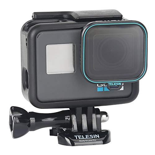 TELESIN Filtro Polarizzatore Circolare Filtro Lente CPL con Copriobiettivo Protettore Obiettivo per GoPro Hero 2018 Hero 7 6 5 Black Accessori