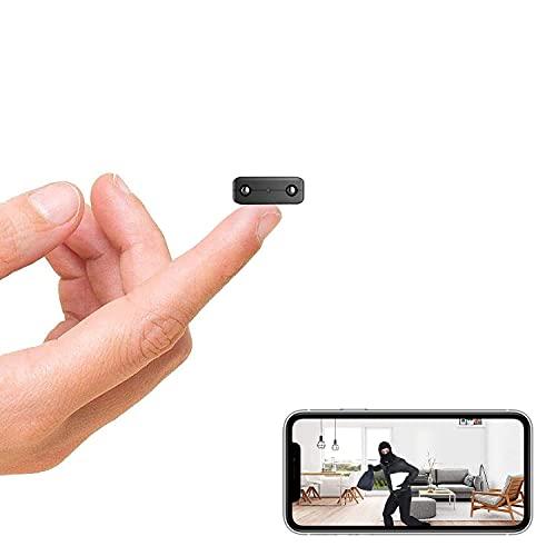 wifi小型無線カメラ、小型カメラ、1080P超 ネットワークミニカメラ、家庭用無線ベビーモカメラ対応、wifi防犯カメラ、録画録画動的検知暗視機能クラウドストレージ、日本語の説明書