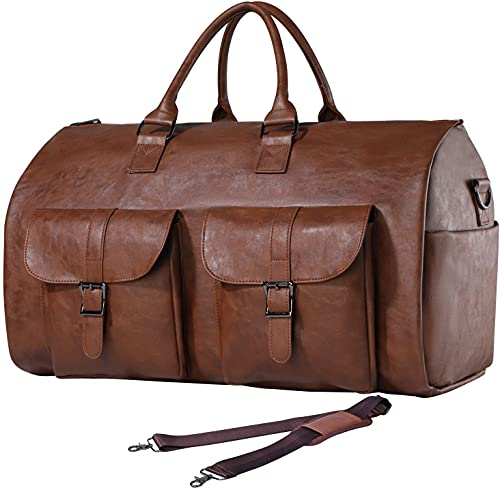 leather garment bags for travel - 7