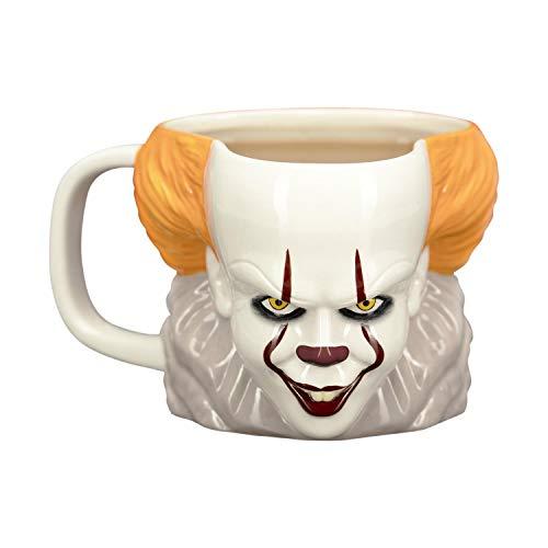 Paladone PP5157IT Pennywise Coffee Mug-IT Horror Movie Drinkware, Ceramic, 330 milliliters