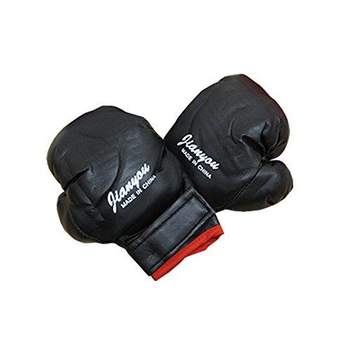 キッズ/子供用/ボクシンググローブパンチンググローブ (ブラック)キッズグローブ emuwai