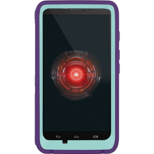 OtterBox Defender Series Case for Motorola DROID MAXX - Retail Packaging - Blue/Purple