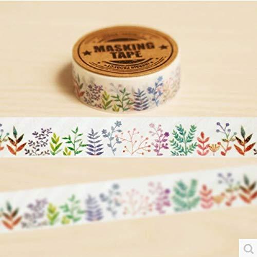 ZXWDL 1.5-4Cm*7M Leuke Sokken Vlaggen Washi Tape Diy Decoratieve Scrapbooking Planner Masking Tape Plakband Label Sticker briefpapier