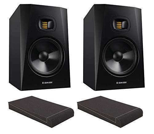 Adam Audio T8V ISO Set (Aktives 2-Wege Studio-Monitor-Paar inkl. 2 8
