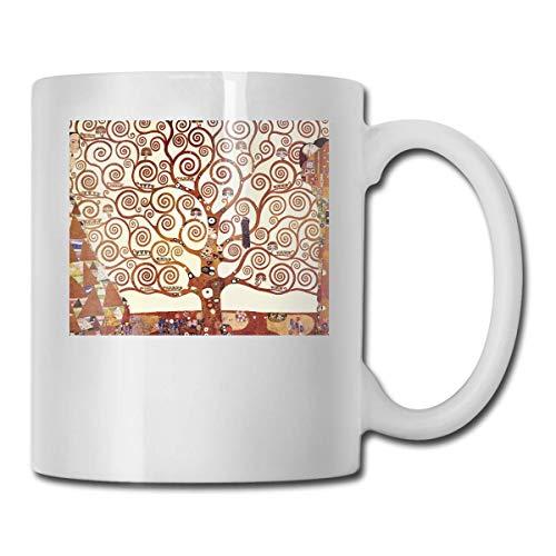 Taza de café de Gustav Klimt con taza de café y té de cacao. El regalo perfecto para familiares y amigos, taza de café de 12 oz.