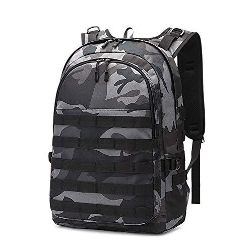 Huntvp PUBG Rucksack Level 3 Tacticalk Laptop Military College Tasche, Unisex-Erwachsene (nur Neuheiten und Gepäck), camouflage, 13.4