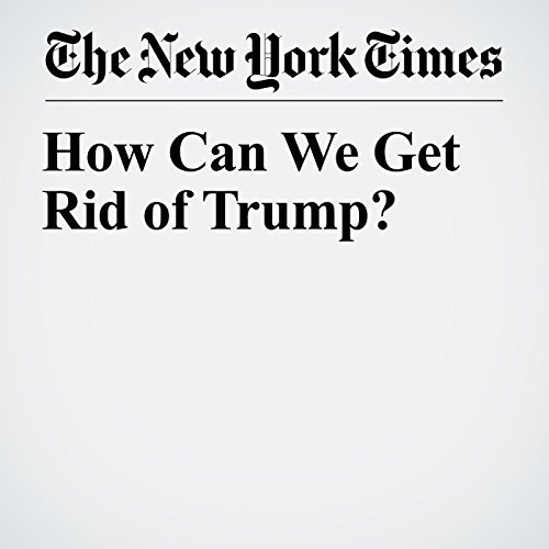 How Can We Get Rid of Trump? copertina