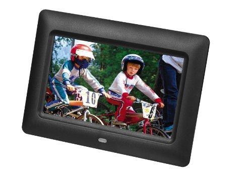 "Braun Photo Technik Digiframe 7001 - Marco digital (17,78 cm (7""), 480 x 234 Pixeles, LCD, JPG, Memory Stick (MS), MMC, SD, SDHC, Slideshow) Negro"