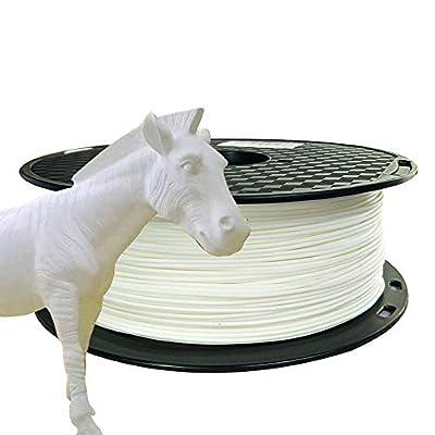 CC3D PLA Max White PLA Filament 1.75mm PLA PRO (PLA+) 3D Printer Filament 1KG 2.2LBS Spool 3D Printing Materials High Strength Than Normal PLA Plus Filament