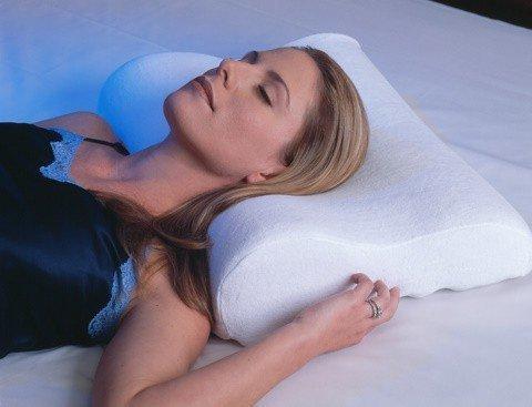 Premium hoogwaardig traagschuim kussen – neksteunkussen van thermo-actief schuim – vormschuim traagschuim nekkussen neksteun hoofdkussen gezondheidskussen