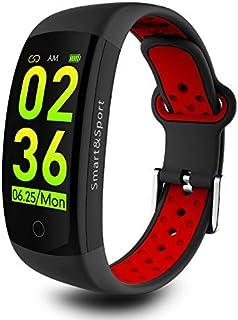 Forme Pulsera de Actividad I Monitor de Actividad IP68 I Reloj Inteligente I Pulsómetro Presión Sanguínea I Podómetro Calorías I Fitness Tracker I Pulsera Inteligente Reloj de Actividad (Rojo)