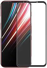 لفيلم Nubia Red Magic 5G Full Screen Protector Film, Ultra Slim HD 2.5D زجاج مقاوم للكسر - أسود