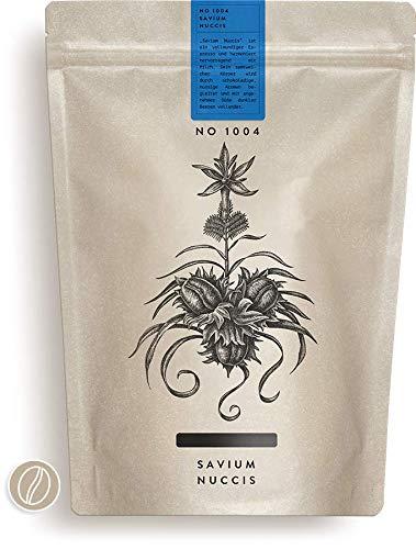 RAUWOLF | 1004 SAVIUM NUCCIS | 250g Espresso | Samtweich & Nussig | ganze Bohne | EHRLICH! FRISCH GERÖSTET | VERSAND IN 24H AB 1KG FREI