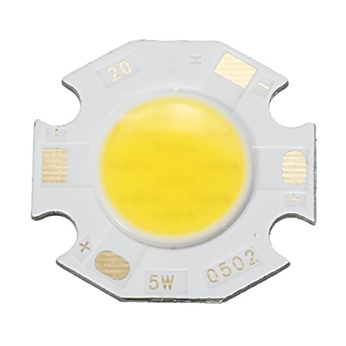 uxcell 300 mA 5 W LED Chip Lampe SMD Licht Perlen Neutralweiß Super Hell High Power für Flutlicht