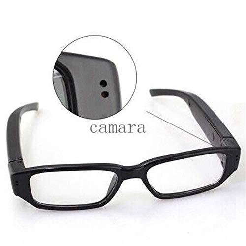 YLOVOW Gafas espía de Video HD 1080P con cámara Oculta para Deportes, 5 megapíxeles Cámara Mini para videocámaras DV y cámara para videocámaras DV,1080P
