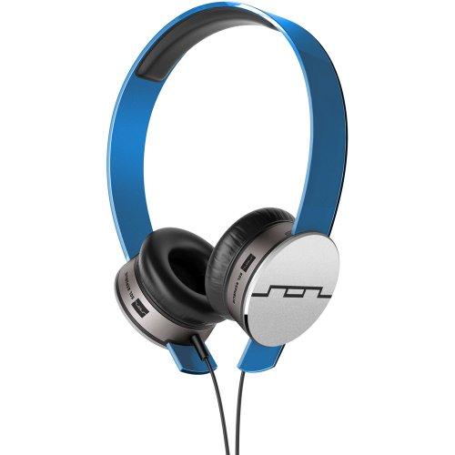 SOL Republic Tracks HD OnEar-Kopfhörer mit V10 Sound-Engine (tauschbares Headband) Blau