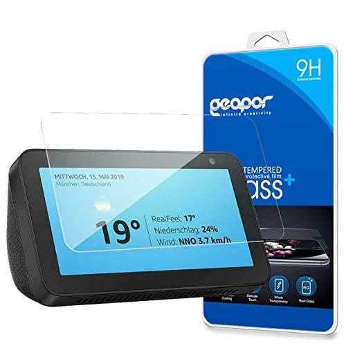 Geapor Amazon Echo Show 5 Tempered Glass Screen Protector